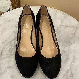 Nine West wedge shoes size 9
